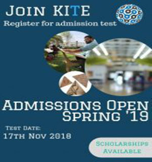 Admissions Open for Spring '19